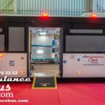 biggest ambulance bus