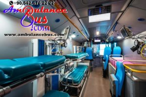 paramedic bus ambulance