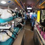 biggest medical ambulance bus